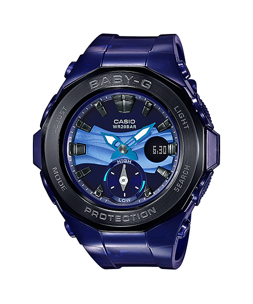 CASIO BABY-G LADIES WATCH BGA-220B-2ADR