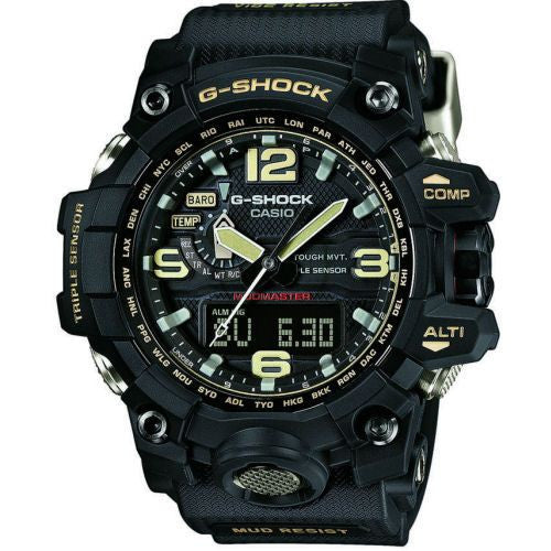 CASIO G-SHOCK BLACK TWIN SENSOR MUDMASTER GWG-1000-1A