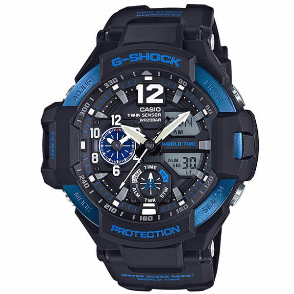 CASIO G-SHOCK GRAVITYMASTER MENS WATCH GA-1100-2BDR