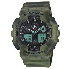CASIO G-SHOCK MENS WATCH GA-100MM-3ADR