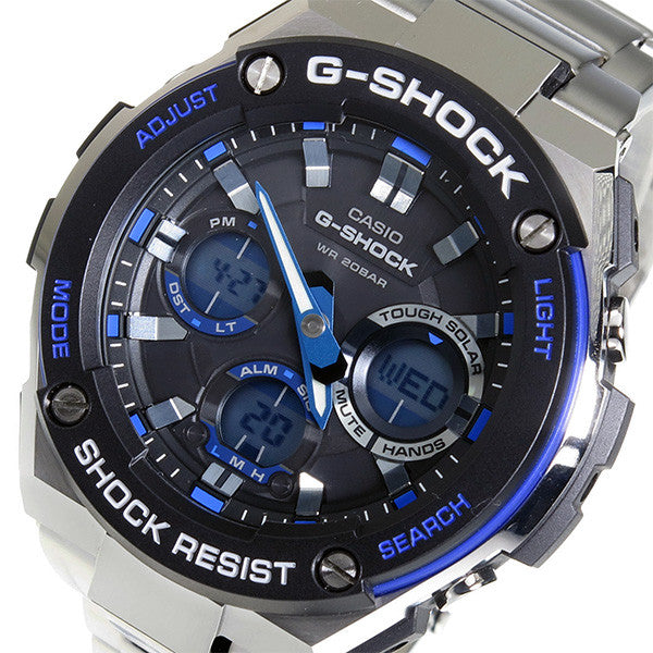 CASIO G-SHOCK G-STEEL MENS GOLD WATCH GST-S100D-1A2