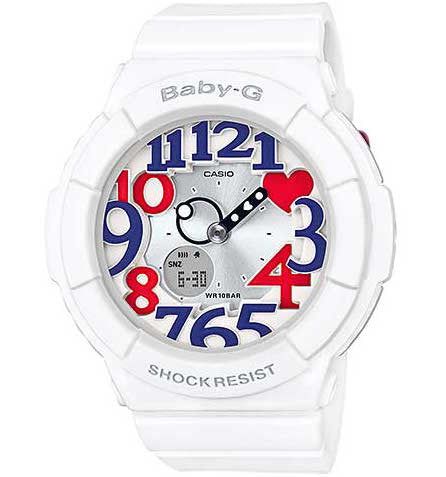 CASIO BABY-G LADIES WATCH BGA-130TR-7BDR
