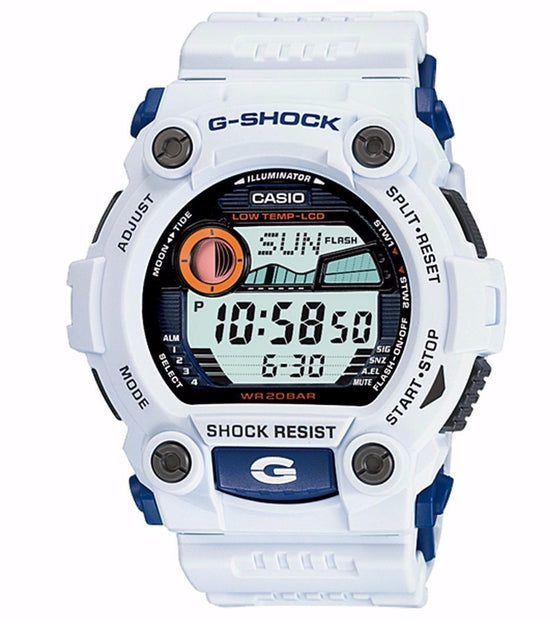 TIDE GRAPH MENS WATCH WHITE G-7900A-7
