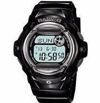 CASIO BABY-G STANDARD DIGITAL LADIES WATCH BLACK BG-169R-1