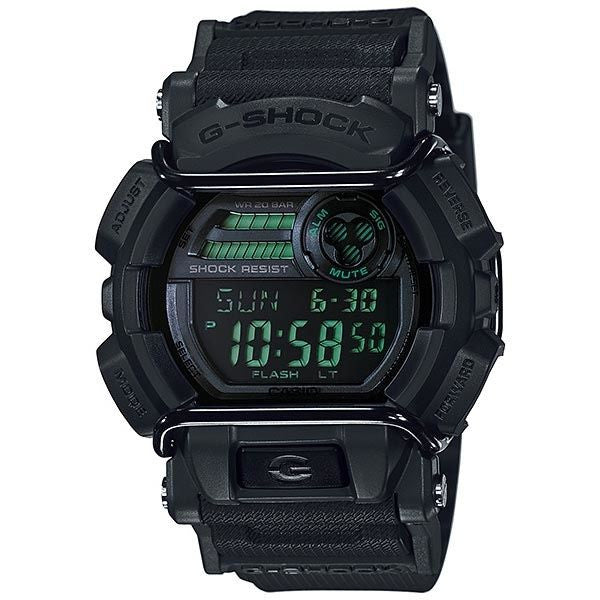 CASIO G-SHOCK DIGITAL MENS WATCH BLACK GD-400MB-1DR