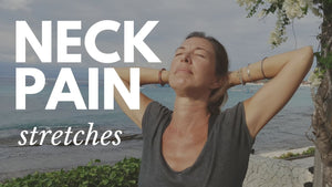 NECK TENSION STRETCHES AND EXERCISES