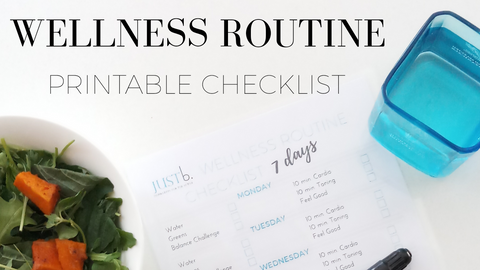 Healthy Routine Checklist