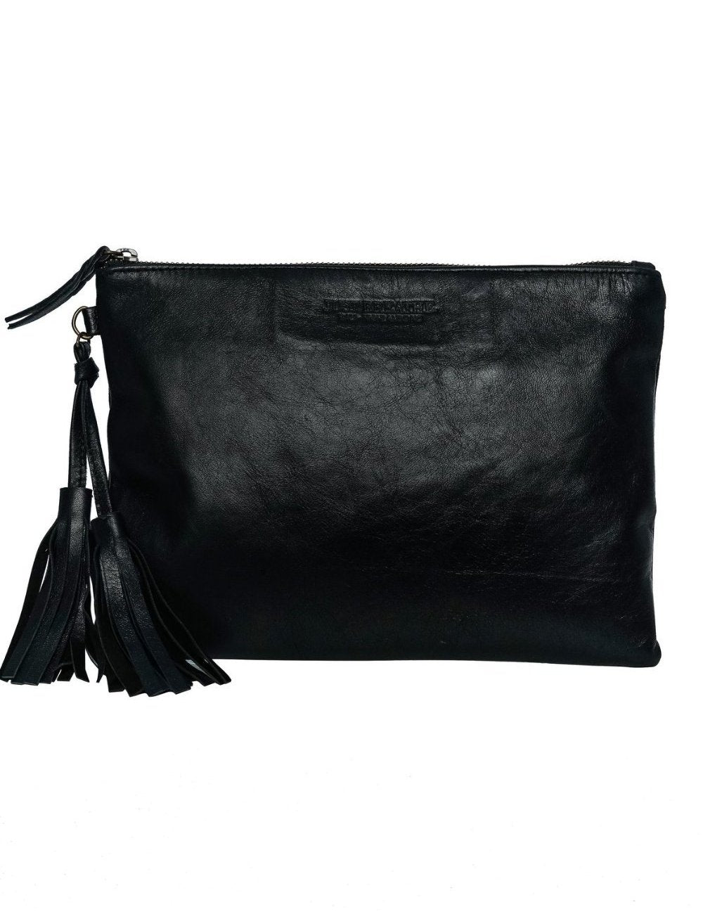 The Clutch ~ Black ~ Leather