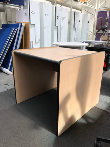 Used square desk