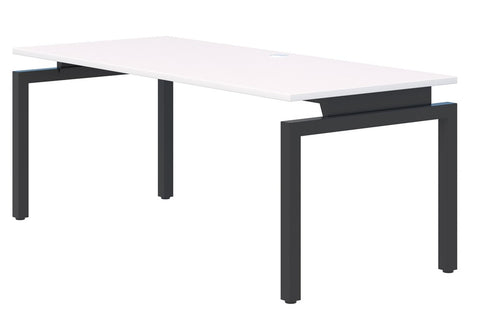 Balance Desk 1800 wide-Office Desks-700mm deep-Black-Auckland Delivery-Commercial Traders - Office Furniture