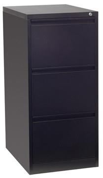 Firstline 3 drawer vertical filing cabinet - commercial traders office furniture
