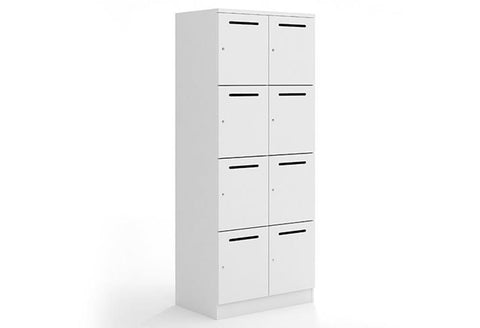 Mascot Lockers With Mail Slot (4 x 2) - commercial traders office furniture