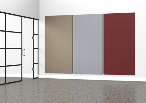 ACOUSTIC PANEL - 2400 x 1220-Acoustic-Light Rrey-Commercial Traders - Office Furniture