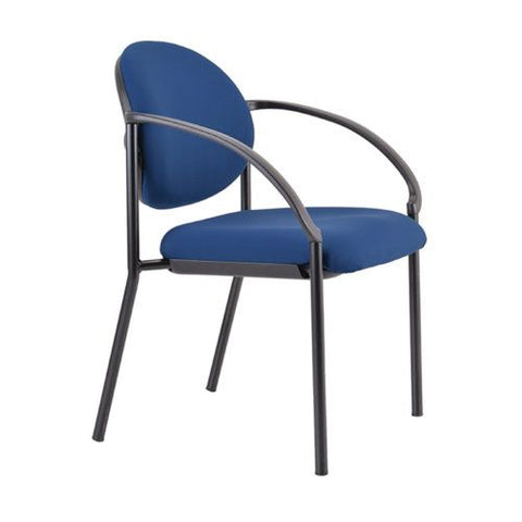Buro Essence Visitor Chair - Arms included - commercial traders office furniture