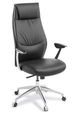 Domain High Back Executive Leather Chair