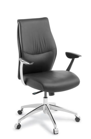 Domain Mid Back Executive Leather Chair
