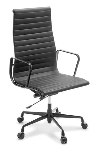 Eames Replica Classic High Back (Black Frame) - commercial traders office furniture