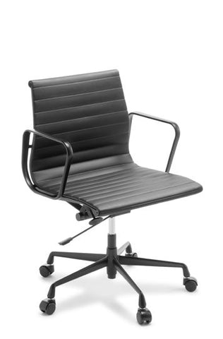 Eames Replica Classic Mid Back (Black Frame) - commercial traders office furniture