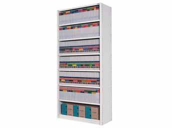 Fixed Panel Shelving - 7 Level - commercial traders office furniture