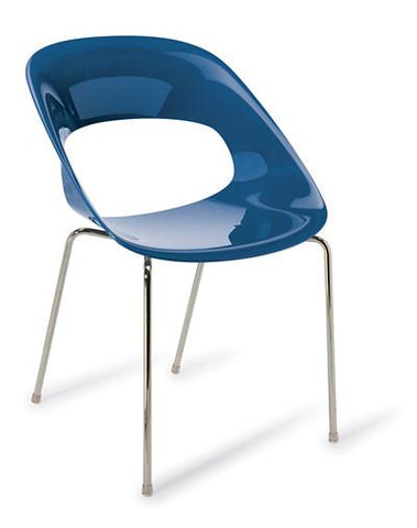 Hula Chair (4 Legs) - commercial traders office furniture