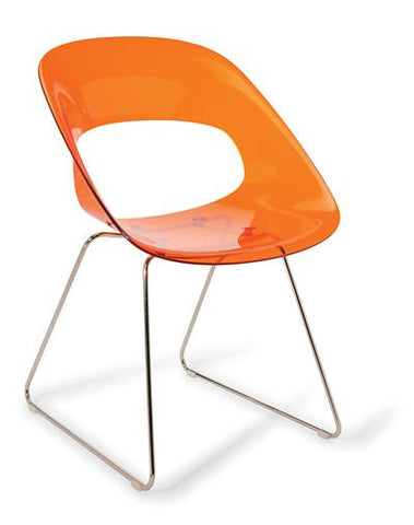 Hula Chair (sled base) - commercial traders office furniture