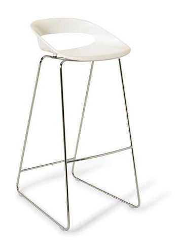 Hula Bar Stool (sled base) - commercial traders office furniture
