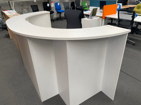 Cancelled Order Phoenix Reception Counter - pick up only - commercial traders office furniture
