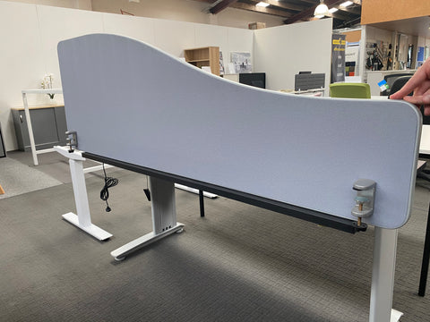 Cancelled Order Contour (500mm high) - 1800w - 3 available - commercial traders office furniture