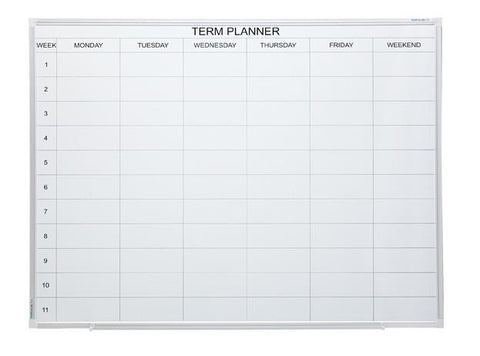 Term Planners - 900 x 1200-Whiteboards-No Accessories Thanks-Commercial Traders - Office Furniture