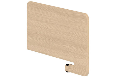 BOX Melteca Side Clamp on Screen - 480h-Unclassified-900 long-Refined Oak-Commercial Traders - Office Furniture