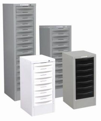 Multidrawer Stationery Cabinet - 11 drawers - commercial traders office furniture