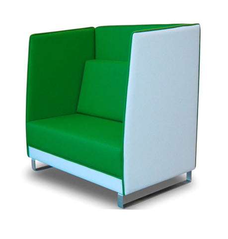 Munro Booth 1 Seater-Unclassified-Globe-Delivery In Auckland-Commercial Traders - Office Furniture