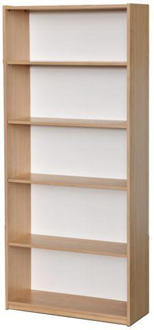 N-Zed Bookcase 1800h - commercial traders office furniture