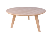 Oslo Coffee Table - (Round) Veneer Top