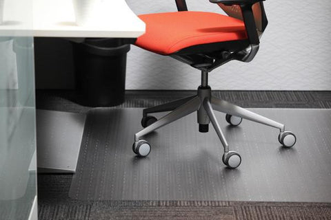 Chair Mat - Polycarbonate - 1150mm x 1350mm-Unclassified-Default-Commercial Traders - Office Furniture