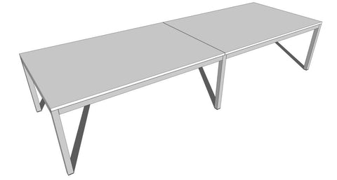 Essentials Meeting Table 3600 x 1200 - commercial traders office furniture