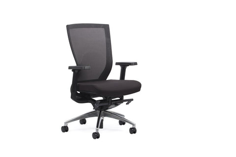 Venture Mesh Chair-Office Chairs-Alloy-Commercial Traders - Office Furniture