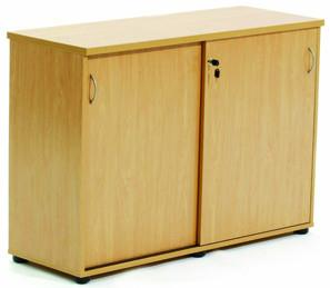 Ergoplan Credenza 1200W x 850H - Tawa - commercial traders office furniture