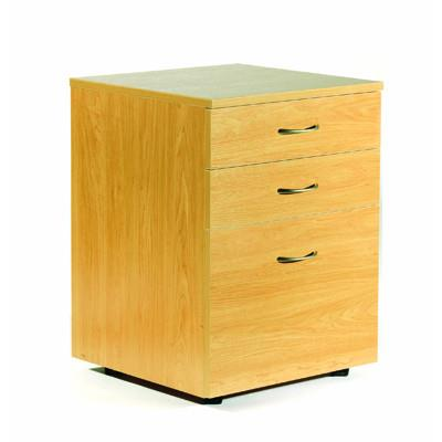 Ergoplan Mobile 2 Drawer & File  - Tawa - commercial traders office furniture
