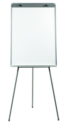 Portable Flipchart Whiteboard - Lacquered Steel 600 x 900mm - commercial traders office furniture
