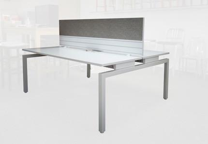 Balance 1800 Desk 4 Person Full Package Office Furniture