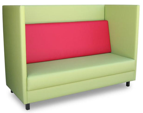 Bolton Booth 2 Seater-Unclassified-Metal powder-coat-North Island Delivery-Fiesta-Commercial Traders - Office Furniture
