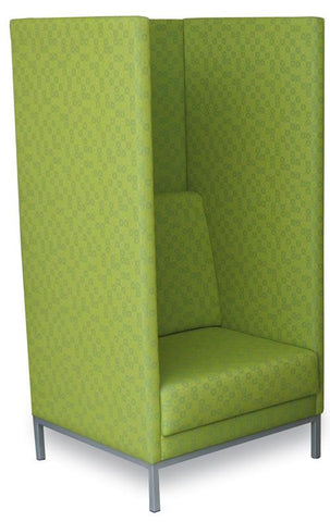 Bolton Booth Chair-Unclassified-Wooden-North Island Delivery-Lustrell (Vinyl)-Commercial Traders - Office Furniture