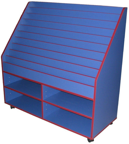 Book Display - 10 tier - commercial traders office furniture