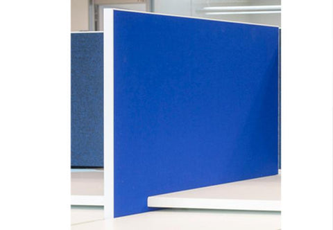 CLASSIC Fabric Side Screen - 480mm (H) x 750mm (L) - commercial traders office furniture