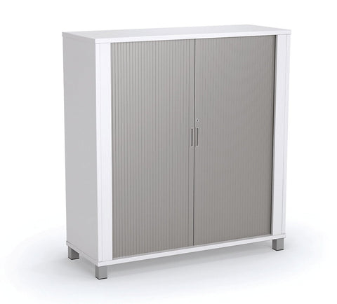 Cubit Tambour - White Only - commercial traders office furniture