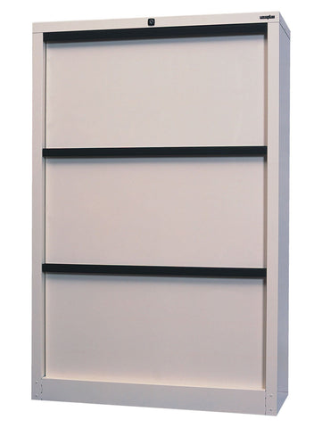 Eurotilt 3 drawer-Unclassified-Matt Black-Commercial Traders - Office Furniture