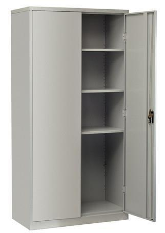 Firstline Cupboard 1830mm high, with 3 adj. shelves - commercial traders office furniture
