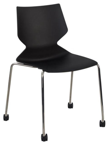 Fly Chair 4 Leg Castors - commercial traders office furniture
