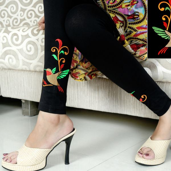 Modern yet Desi: Most loved Embroidered Leggings